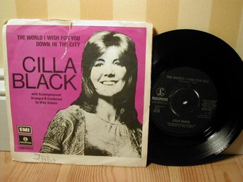 Cilla Black - The World I Wish For You / Down In The City