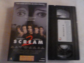 SCREAM 2,    VHS, FILM