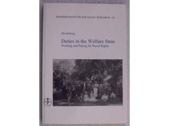 Duties in the welfare state – working and paying for social rights