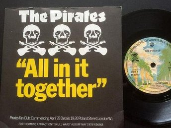 The Pirates All in together. ( Mick Green) 7""