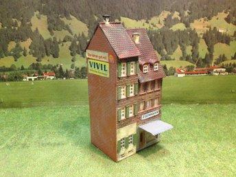 Hus / Affär - H0 - åtvidaberg - Hus / Affär - H0 - åtvidaberg