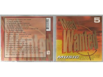 Most wanted music # 5 - CD - 1997