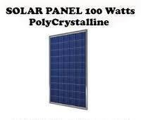 Solpanel Solcell Solfångare 100W *NY A Grade Polycrystalline