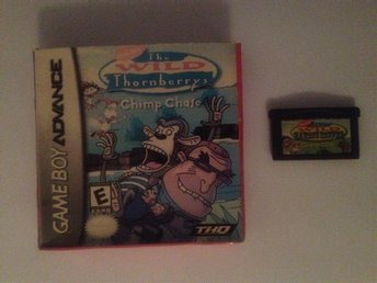 The wild thornberrys Gameboy advance