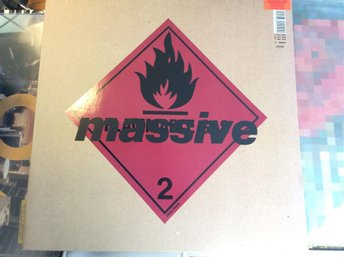 Massive 2 Blue lines Limited edition 1991 UKPRESS