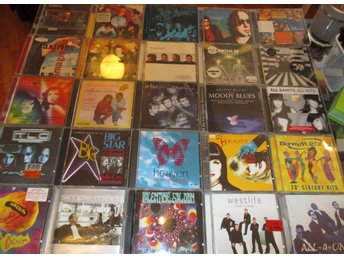 25 CD pop, Boney M, All Saints, A- ha, Simple Minds m fl