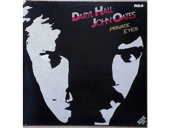 Daryl Hall & John Oates title*  Private Eyes* Pop Rock LP Germany