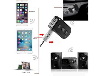 Bluetooth 4.1 Wireless Audio Receiver 3.5mm Aux Mic