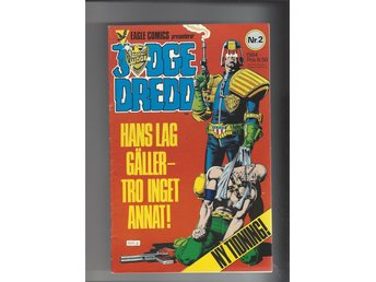 Judge Dredd nr 2 1984 skick vf