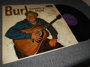 Burl Ives - Country Style (LP) UK 60s Rare Stereo EX/EX