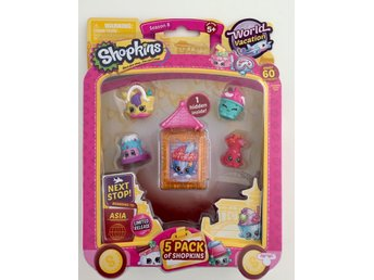 Shopkins serie 8 World Vacation ASIA 5 st