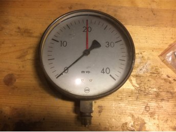 Manometer VVS