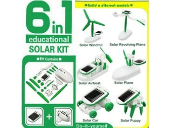 Creative DIY Education Learning Solar...