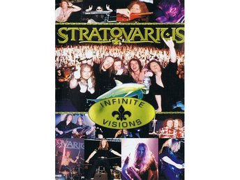 Stratovarius ‎–Infinite Visions vhs Official European PAL ve