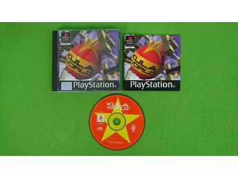 Kula World SVENSK UTGÅVA KOMPLETT Playstation 1 PSone ps1