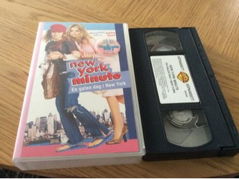 NEW YORK minute en galen dag i NEW york VHS Mary Kate Olsen,Ashley Olsen