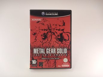 Fina skivor -- Metal gear Solid The Twin Snakes  --  Nintendo Gamecube  --  PAL