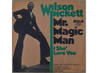 Wilson Pickett Mr. Magic Man Vinyl  SP 1973