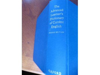 Engelsk ordbok, The Advanced Learner´s Dictionary of Current English