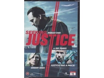 SEEKING JUSTICE-NICOLAS CAGE AND GUY PEARCE-INPLASTAD DVD.