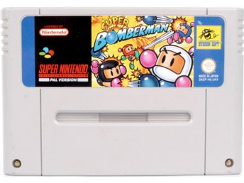 Super Bomberman - Super Nintendo SNES - PAL (EU)