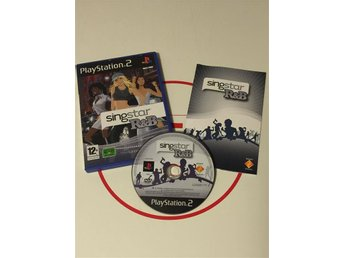 Playstation 2 PS2 Singstar Sing Star R&B / R & B CIB
