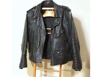 Leather biker jacket - Akaso (42) (L)