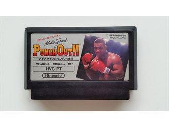 Mike Tyson's Punch-Out!! (på engelska!) till Famicom - billig frakt inom Norden! - örebro - Mike Tyson's Punch-Out!! (på engelska!) till Famicom - billig frakt inom Norden! - örebro
