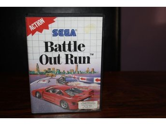 Battle Out run - Sega Master System