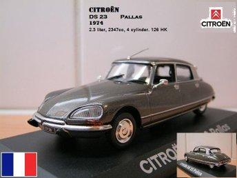 Citroën DS23 Pallas 1974 - Skala 1:43 - FAST PRIS! - Bandhagen - Citroën DS23 Pallas 1974 - Skala 1:43 - FAST PRIS! - Bandhagen