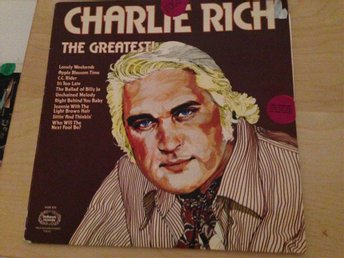 "Charlie Rich ""The greatest hits"""