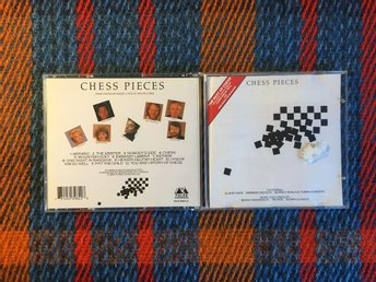 CHESS PIECES CD 1988 Björn Ulvaeus Benny Andersson Tim Rice Tommy Körberg (ABBA)