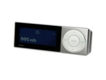 Jacob Jensen Barometer II Silver version, väderstation, Ny