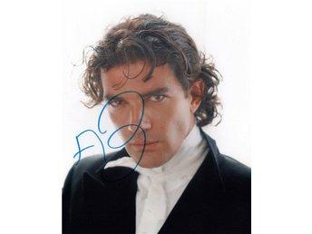 Antonio Banderas signerat foto (Evita/Philadelphia/Zorro/Expendables/Spy Kids) - Dalby - Antonio Banderas signerat foto (Evita/Philadelphia/Zorro/Expendables/Spy Kids) - Dalby