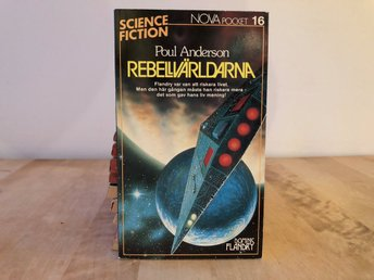Nova science fiction pocket 16 - Rebellvärldarna - Poul Anderson