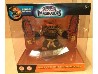 Skylanders imaginators Sensei figur chainreaction chain reaction oöppnad