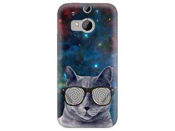 HTC One M8 Skal Cat Space