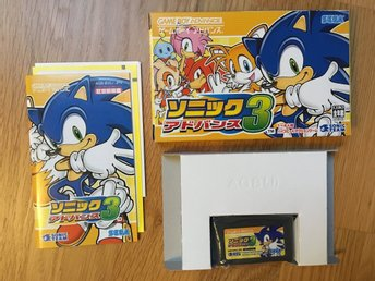Sonic Advance 3 for Game Boy Advance GBA