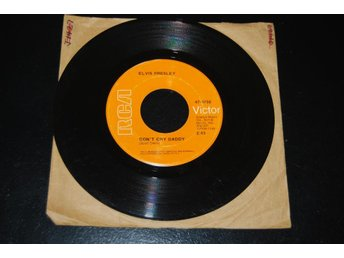 "ELVIS PRESLEY ""DONT CRY DADDY"" 47-9768"
