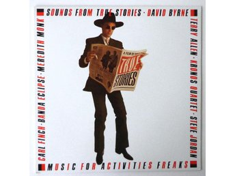 David Byrne m.fl. - Sounds From True Stories 1986 LP Score