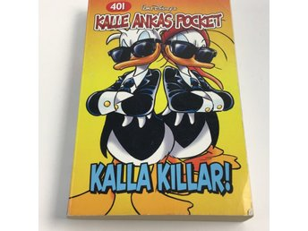Walt Disney, Pocketbok, Kalle anka, Kalla Killar, Orange/Flerfärgad