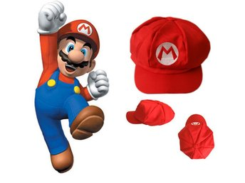New super mario bros cosplay keps cap hat