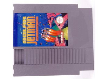 Solar Jetman: Hunt For The Golden Warpship - Nintendo NES