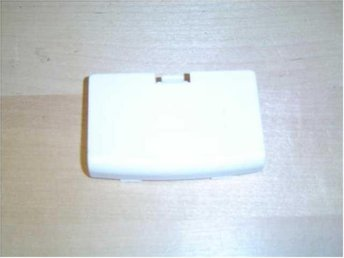 BATTERILUCKA VIT NINTENDO GAMEBOY ADVANCE GBA *NYTT*