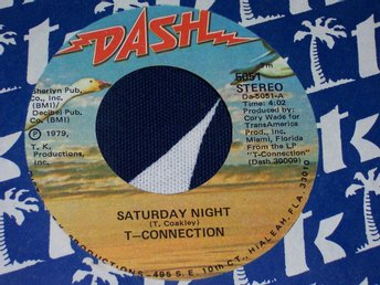 "T-CONNECTION - SATURDAY NIGHT 7"" 1979"