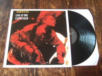 Nirvana / Live At The Cactus Club  (Nyskick / Vinyl)