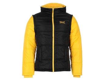 MMA Everlast Mens Black Yellow Contrast Jacket MEDIUM - Malmberget - MMA Everlast Mens Black Yellow Contrast Jacket MEDIUM - Malmberget