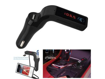 Bluetooth FM Transmitter Car Kit Handsfree Radio MP3 Player USB Charger & AUX