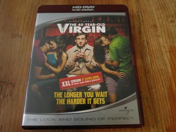 THE 40 YEAR-OLD VIRGIN (HD DVD)