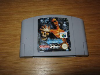 N64/PAL: Shadowman OBS TYSK TEXT! (enbart kassett)